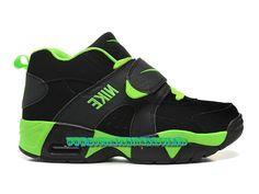Nike Air Veer GS Chaussures Nike LifeStyle Pass Cher Pour Femme Noir/Vert 599213-005
