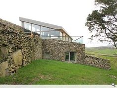 Self-sufficient 'eco farmhouse' by Mark Waghorn Architects in Moniaive, Dumfries & Galloway