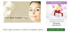 Esta #Navidad puedes disfrutar de tratamientos por 25€. ¡¡Aprovéchalas y ponte guapa!!