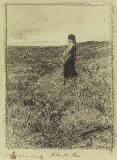 Aldri hadde prinsessen sett så mye myrdun før - Otto Sinding