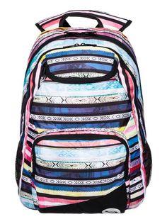 roxy, Shadow Swell Backpack, Azalea - Pattern_1 (mna6)