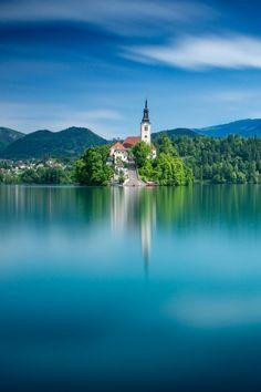 Lake Blad, Slovenia