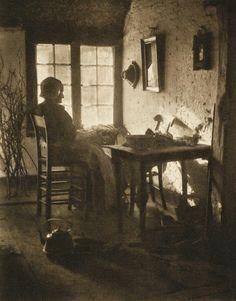 Adriaan Boer, The Netherlands : Am Fenstereck. 1909