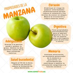 Propiedades de la manzana verde para bajar de peso