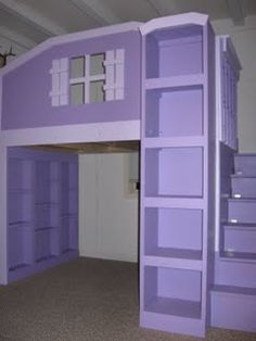 Loft Beds Dollhouses And Loft On Pinterest