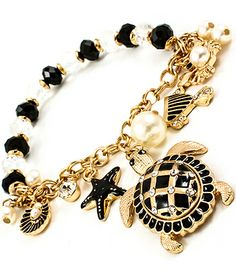 Women's Turtle Stretch Charm Bracelet - SOLD OUT