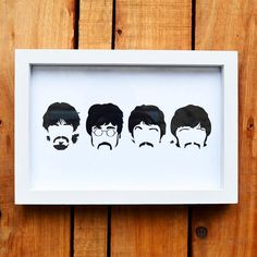 Cuadro Beatles 20x30cm - MISPETATES