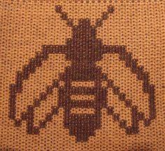 Bee Samples in Summer & Winter by plainweave, via Flickr