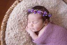 Stunning newborn flower crown, headpiece, flower wreath. Baby bohemian headpiece. Perfect for style photo shoot or newborn photo session. This
