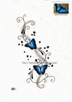 Si je me décidais à couvrir mon vieux tattoo, ce serait avec une image comme celle-là... peut-être...