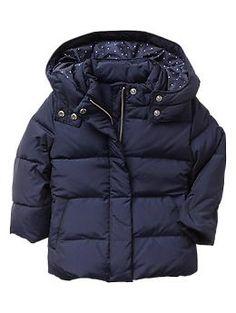 Warmest down puffer jacket   Gap