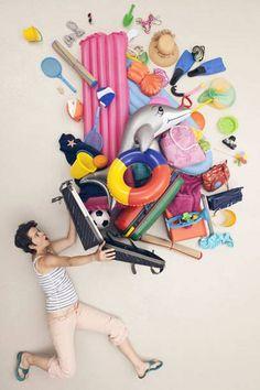 Muss wirklich so viel Spielzeug mit? Gerade Familien neigen dazu, den Koffer mit weniger wichtigen Dingen vollzupacken