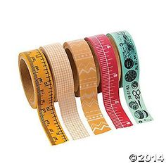 Sewing Washi Tape Set $5 for five