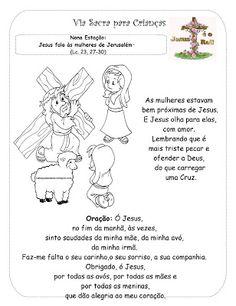 Catequese Kids: Livrinho - Via Sacra para as Crianças