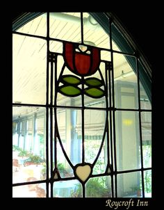 Dard Hunter stained glass