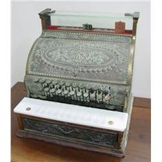 Ornate Cash Register (if i only owned a store)