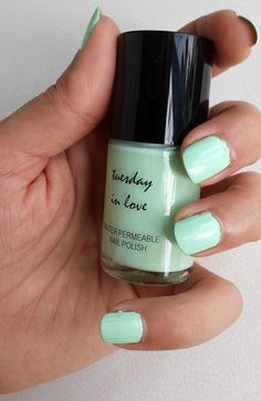 Mint Chocolate by Tuesday in Love Halal Nail Polish