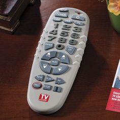 TV REMOTE CONTROL BIG BUTTONS    http://www.ebay.com/itm/200853549251?ssPageName=STRK:MESELX:IT&_trksid=p3984.m1586.l2649