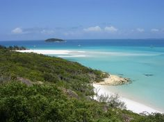 Whitehaven Beach, Australia: How'd we miss this when we were Down Under? Be sure to go to link and click thru the photos. Wow. Wow. Wow.
