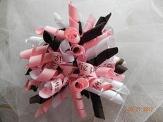 Sweetie Pie Set of Large  Korker Bows by CottonCandyBows on Etsy, $5.99