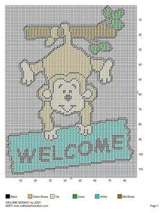 Monkey welcome