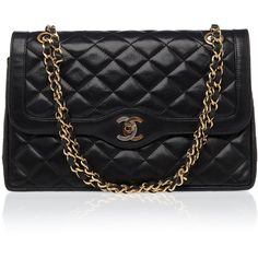 CHANEL REWIND Quilted CC Shoulder Bag found on Polyvore