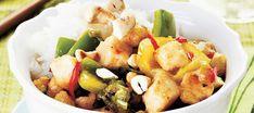 Kung po kana   Pääruoat   Reseptit – K-Ruoka Kung Pao Chicken, Potato Salad, Potatoes, Ethnic Recipes, Foods, Food Food, Food Items, Potato