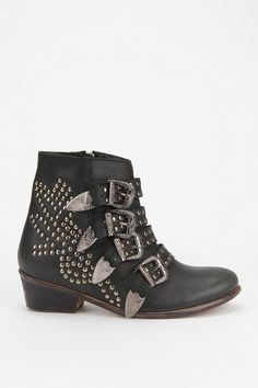 LOVE these studded boots from Ecote, they make me sound like a spur-clad sheriff when I wear them.