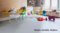 Simple, Durable, Modern, Beautiful