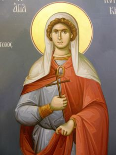 Themis Petrou - Saint Athanasio's Church - Find Creatives Saint Anthony Church, Byzantine Icons, Nashville Tennessee, Ikon, Greece, Saints, Creative, Fictional Characters, Greece Country