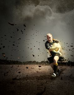 Tulsa Area Sports Promos by Lathen Kamas, via Behance