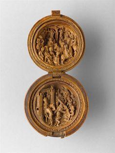 16. Yüzyıl'a Ait Minyatür Ahşap Oymalar – Deniz Humması