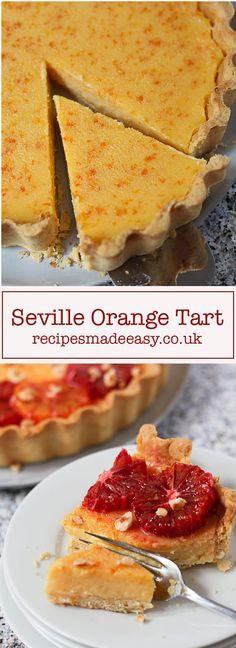 Seville Orange Tart