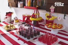 "Feliz - Party table ""Circo"""