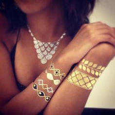Flash Tattoos: tatuaggi gioiello temporanei