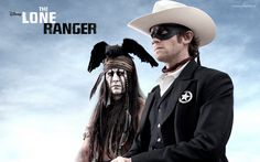 The lone ranger. Another kick ass movie from Johnny Depp