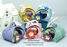 CUTE GIFT BOXES | Arty Paper Crafters