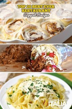 Top 20 Restaurant Copycat Recipes#more