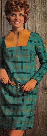 Model Cheryl Tiegs in McCalls Patterns Fashion Magazine. Fall/Winter 1968/1969.
