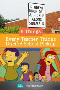 8 Things Every Teacher Thinks During School Pickup. Everything is straightened up and your students are packed up and ready to go. All you have to do is safely deliver all of your students to their next destination. Seems like it should be easy right? You might be surprised. Here's an insider peek into what teachers are really thinking during school pickup. #classroom #firstgrade #secondgrade Teaching Humor, Teaching Tools, Classroom Behavior, Classroom Management, Everything Preschool, Morale Boosters, Middle School Classroom, Teacher Memes, School Days