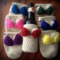 Booby cozies - free pattern
