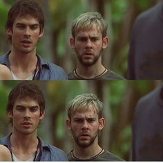happy birthday dominic monaghan and ian somerhalder !!!! cred to @lostmedia_