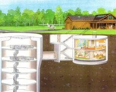 Prepper blog.... yes the house has that giant bunker silo... so epic