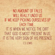 I love this thought! C.S. Lewis