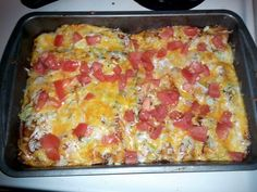 "Ground Beef enchiladas! ""My husband told me to make this recipe that his aunty makes. So i tried it and i thought it was amazing. i hope you enjoy the recipe that i have put up for you. :chef""  @allthecooks #recipe"