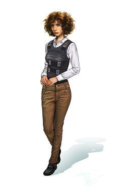 Female Character by DimitarKatsarov.deviantart.com on @DeviantArt