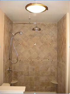 Tub Surround With Single Built In Shower Shelf Marazzi