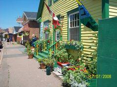 Tatamagouche, Nova Scotia. I spent a couple of weeks here as a child.