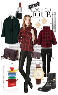 Look Du Jour: Plenty More! Source by outfits bajitas Legging Outfits, Outfits Otoño, Fall Fashion Outfits, Girl Fashion, Autumn Fashion, Casual Outfits, Womens Fashion, Blair Waldorf Outfits, Polyvore Outfits
