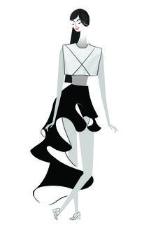 Sunday Times Style - Lesley Barnes Illustration